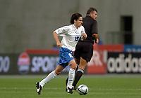 Fotball<br /> VM-kvalifisering<br /> Frankrike v Israel<br /> 4. september 2004<br /> Foto: Digitalsport <br /> NORWAY ONLY<br /> YOSSI BENAYOUN (ISR)