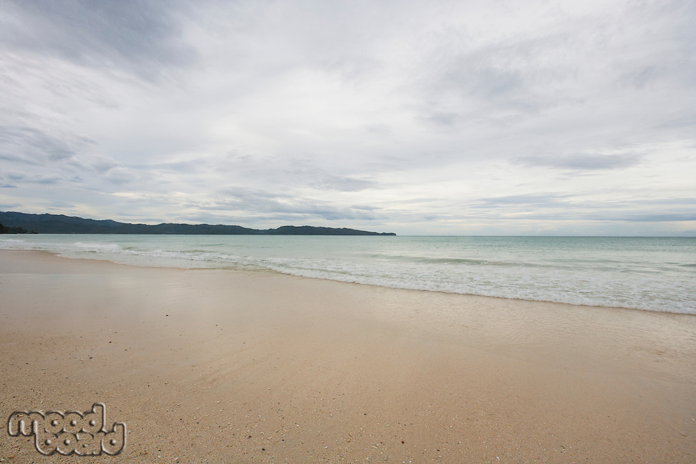 Beach in Boracay; Philippines