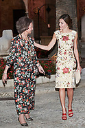 080417 Spanish Royals Host A Dinner For Authorities In Palma De Mallorca