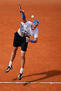 Roland Garros 2011. Paris, France. May 24th 2011..American player John ISNER against  Rafael NADAL