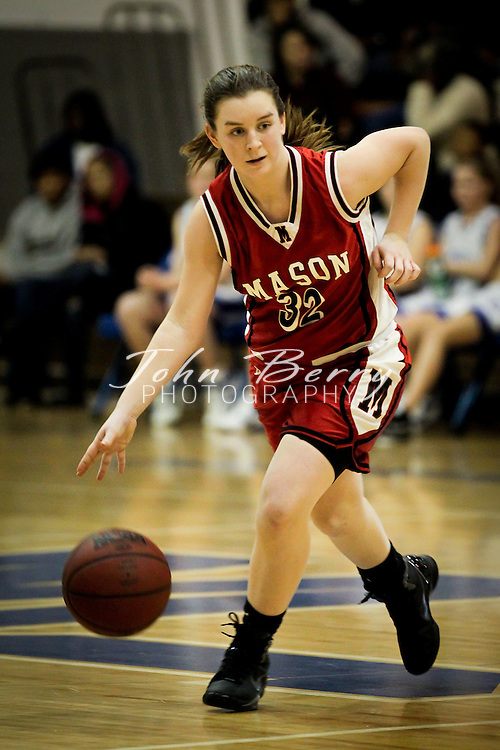 January/13/11:  MCHS JV Girls Basketball vs George Mason Mustangs.  Madison lost to Mason 37-14.