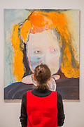Evil is Banal, 1984. A new exhibition of paintings by Marlene Dumas at the Tate Modern opens on 5th Feb. It is one of the most significant displays of her work ever to be held in Europe, bringing together over 100 of her most important and iconic figurative paintings from throughout her career. The three key items/sets are:  'Great Britain' – Dumas's powerful double portrait of Princess Diana and Naomi Campbell, on loan from a private collection; A group of Dumas's iconic large-scale portraits, including friends, family, figures from history and celebrities such as Amy Winehouse; 'Rejects' – a huge grid of 40 powerful black-and-white portrait paintings which Dumas has created over twenty years.