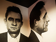 me and Johnny Cash in the men's room at The Republic<br />