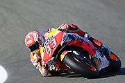 #93 Marc Marquez, Spanish: Repsol Honda Team during the Gran Premio Motul de la Comunitat Valenciana at Circuito Ricardo Tormo Cheste, Valencia, Spain on 16 November 2019.