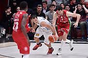 Davide Pascolo,Craft Aaron<br /> Milano - Trento<br /> Lega Basket Serie A 2016/2017<br /> Milano 02/04/2017<br /> Foto Ciamillo-Castoria / GiulioCiamillo