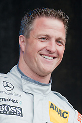 22.04.2012, Kurhaus, Wiesbaden, GER, DTM, Praesentation Wiesbaden, im Bild Ralf Schumacher (HWA/ AMG Mercedes C-Coupe (2012) // during the DTM Presentation 2012, at the Kurhaus, Wiesbaden, Germany on 2012/04/22. EXPA Pictures © 2012, PhotoCredit: EXPA/ Eibner/ Ulrich Roth..***** ATTENTION - OUT OF GER *****