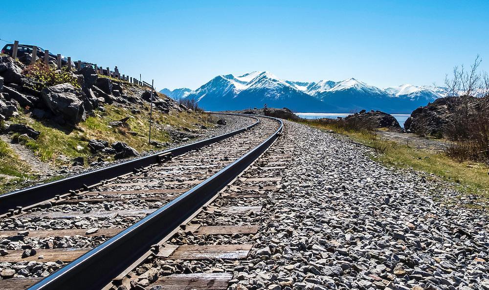 On the way to Seward, Alaska along Turnagain Inlet.