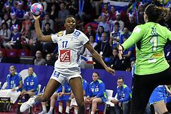 France player Siraba Dembele during the Women's european handball chanmpionship preliminary round, Slovenia vs France. Nancy, Fance -02/12/2018//POLEMILE_01POL20181202NAN008/Credit:POL EMILE / SIPA/SIPA/1812021731