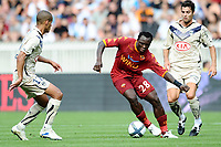 FOOTBALL - TOUNOI DE PARIS 2010 - AS ROMA v GIRONDINS BORDEAUX - 31/07/2010 - PHOTO GUY JEFFROY / DPPI - AHMED BARUSSO (ROMA)