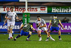 Piula Faasalele of Toulouse in action  - Mandatory by-line: Craig Thomas/JMP - 14/01/2018 - RUGBY - BT Sport Cardiff Arms Park - Cardiff, Wales - Cardiff Blues v Toulouse - European Rugby Challenge Cup
