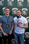 30/04/2014. Connacht Rugby's Eoin Griffin and Brett Wilkinson at the Jameson Cult Film Club screening of The Usual Suspects in the Black Box Galway.Photo:Andrew Downes Photography.