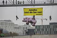Greenpeace protest, Berlin 10.11.17