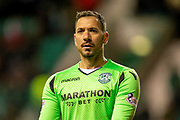 Ofir Marciano (#1) of Hibernian FC during the Ladbrokes Scottish Premiership match between Hibernian and Rangers at Easter Road, Edinburgh, Scotland on 8 March 2019.