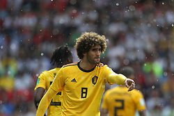 June 23, 2018 - Moscou, Rússia - MOSCOU, MO - 23.06.2018: BÉLGICA Y TÚNEZ - Marouane FELLAINI from Belgium during the match between Belgium and Tunisia valid for the 2018 World Cup held at the Otkrytie Arena (Spartak) in Moscow, Russia. (Credit Image: © Rodolfo Buhrer/Fotoarena via ZUMA Press)