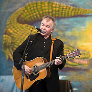 John Prine performs at New Orleans Jazz & Heritage Festival in New Orleans, LA, April 26, 2008.