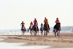 Endurance on the beach in Vlissingen<br /> World Equestrian Games Den Haag 1994<br /> © Hippo Foto - Dirk Caremans