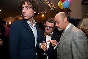 MIKA; ALBER ELBAZ; CHRISTIAN LOUBOUTIN, LANVIN PARTY. Savile Row. London. 11 November 2009.