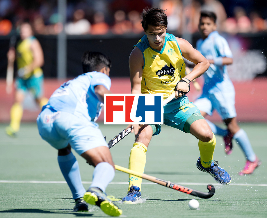 BREDA - Rabobank Hockey Champions Trophy<br /> Final Australia - India<br /> Photo: Tim Brand.<br /> COPYRIGHT WORLDSPORTPICS FRANK UIJLENBROEK