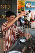 India making Chai