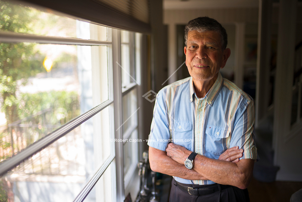 Dr. Michael Och at his home in New Jersey. Photo © Robert Caplin