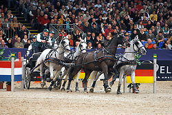 Chardon IJsbrand, (NED), Illem, Kelvin, Maestoso x-28 Fegyenc, Maestoso x-30 Magus<br /> CAI-W Leipzig 2010<br /> © Hippo Foto - Dirk Caremans