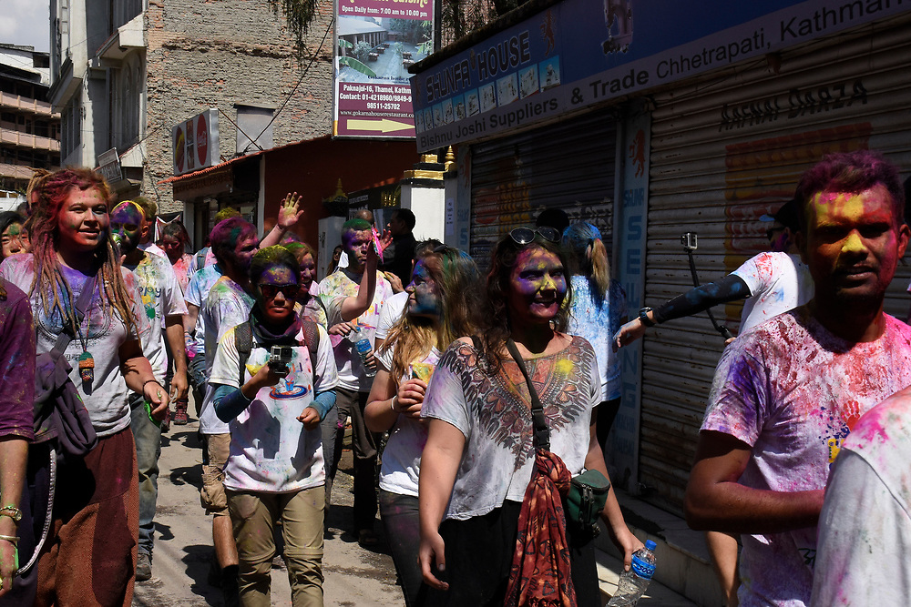 Holi Festival in Katmandu, Nepal