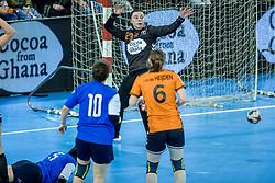 23-11-2017 NED: Nederland - Italie, Eindhoven<br /> Uitzwaaiduel Oranje in een volgepakt Topsportcentrum in Eindhoven tegen Italie wordt met ruime cijfers gewonnen 41-16 / Jasmina Jankovic #23 of Netherlands