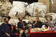 Egyptians from the Christians Copt community attend a wedding party in Garbage city.<br />
