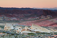 Rainbow Vista at Sunset, Valley of Fire State Park, Nevada