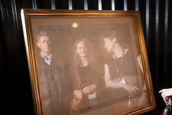 Pictured with the original lease for St James's Gate is Colm Smyth and Sinead Connolly are pictured with Guinness Archivist Eibhlin Roach at the Guinness Storehouse, celebrating talent and creativity on Arthur's Day 2013. Picture Andres Poveda