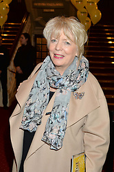 ALISON STEADMAN at Beautiful - The Carole King Musical 1st Birthday celebration evening at The Aldwych Theatre, London on 23rd February 2016.