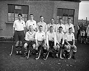 17/01/1953<br /> 01/17/1953<br /> 17 January 1953<br /> Leinster v Ulster Interprovincial Mens Hockey  at Londonbridge Road, Dublin. Ulster won the match 4-2. The Ulster team.