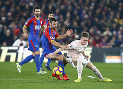 February 27, 2019 - London, England, United Kingdom - Manchester United's Scott McTominary.during English Premier League between Crystal Palace and Manchester  United at Selhurst Park stadium , London, England on 27 Feb 2019. (Credit Image: © Action Foto Sport/NurPhoto via ZUMA Press)