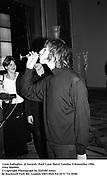 Liam Gallagher. Q Awards. Park Lane Hotel. London 9 November 1996. Film 96699f6<br />© Copyright Photograph by Dafydd Jones<br />66 Stockwell Park Rd. London SW9 0DA<br />Tel 0171 733 0108