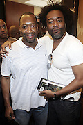 l to r: Lee Daniels and Jeff Friday at The Master Class with John Singleton during the The 2009 American Black Film Festival held at The Ritz-Carlton in Miami Beach on June 27, 2009 ..