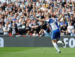 Bristol Rovers' Lee Mansell - Photo mandatory by-line: Neil Brookman/JMP - Mobile: 07966 386802 - 17/05/2015 - SPORT - football - London - Wembley Stadium - Bristol Rovers v Grimsby Town - Vanarama Conference Football