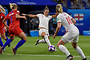 Lucy Bronze of England controls the ball during the FIFA Women's World Cup France 2019, semi-final football match between England and USA on July 2, 2019 at Stade de Lyon in Lyon, France - Photo Melanie Laurent / A2M Sport Consulting / ProSportsImages / DPPI