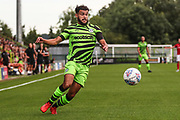 Forest Green Rovers Dominic Bernard(3) on the ball during the Pre-Season Friendly match between Forest Green Rovers and Bristol City at the New Lawn, Forest Green, United Kingdom on 24 July 2019.