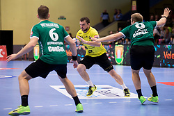 Žarko Pejović of RK Gorenje Velenje during handball match between RK Gorenje Velenje and Skjern Handbold in Group Phase C+D of VELUX EHF Champions League, on 1st October, 2017 in Rdeca dvorana, Velenje, Slovenia. Photo by Urban Urbanc / Sportida
