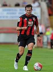 Bournemouth's Charlie Daniels  - Photo mandatory by-line: Harry Trump/JMP - Mobile: 07966 386802 - 18/07/15 - SPORT - FOOTBALL - Pre Season Fixture - Exeter City v Bournemouth - St James Park, Exeter, England.