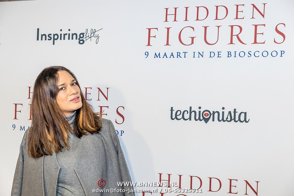 NLD/Amsterdam//20170307 - Premiere HIdden Figures, Sunny Jansen