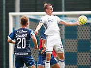 FODBOLD: Martin Pušić (FC København) under kampen i Reserveligaen mellem FC København og FC Helsingør den 28. august 2017 på KB's Anlæg. Foto: Claus Birch