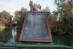 Yardentit, the Baptismal Site on the Jordan River, near the Sea of Galilee. Sunday 2nd Jan, 2011. Day three visit to a kibbutz. Train & Travel is a unique ten day program designed for IKMF's instructors, students & guests, interested in combining Krav Maga training with a tour of the holy land. .©2011 Michael Schofield. All Rights Reserved.