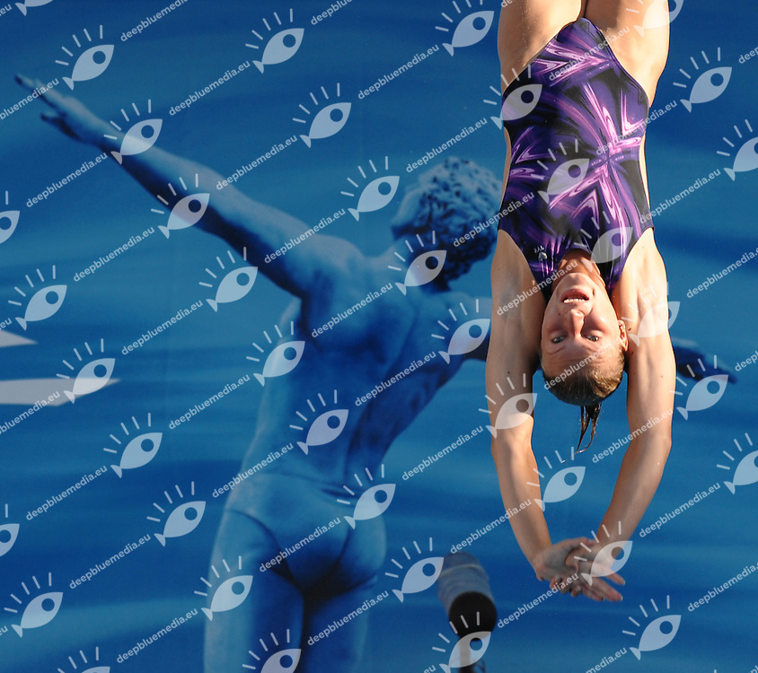 13th Fina World Championships From 17th to 2nd August 2009<br /> Roma 20th July 2009 -<br /> Diving Women's springboard 3m - Tuffi<br /> Olena FEDOROVA (UKR)<br /> photo: Roma2009.com/DEEPBLUEMEDIA/Insidefoto