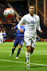 Dele Alli of England U21  - Mandatory byline: Matt McNulty/JMP - 07966386802 - 03/09/2015 - FOOTBALL - Deepdale Stadium -Preston,England - England U21 v USA U23 - U21 International