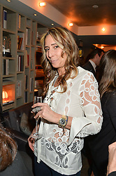 TARA BERNERD at the 3rd birthday party for Spectator Life magazine hosted by Andrew Neil and Olivia Cole held at the Belgraves Hotel, 20 Chesham Place, London on 31st March 2015.