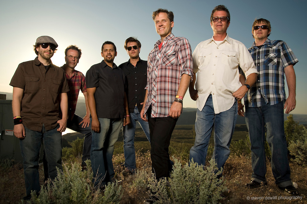 Calexico at the Sasquatch Music Festival