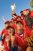 Victorious Softball Team