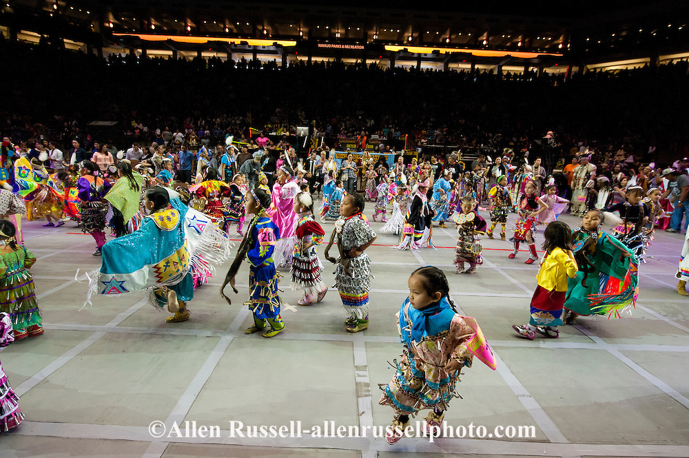 Gathering of Nations Pow Wow, kids, Albuquerque, New Mexico