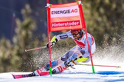 02.03.2020, Hannes Trinkl Weltcupstrecke, Hinterstoder, AUT, FIS Weltcup Ski Alpin, Riesenslalom, Herren, 1. Lauf, im Bild Leif Kristian Nestvold-Haugen (NOR) // Leif Kristian Nestvold-Haugen of Norway in action during 1st run of men's Giant Slalom of FIS ski alpine world cup at the Hannes Trinkl Weltcupstrecke in Hinterstoder, Austria on 2020/03/02. EXPA Pictures © 2020, PhotoCredit: EXPA/ Johann Groder